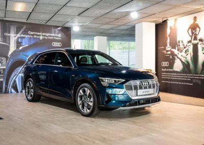 Pop-Up Audi – The place to -e- by Audi is the hotspot for all you car freaks for the upcoming three months.