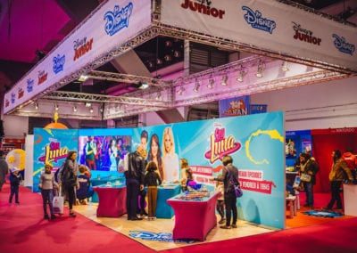KidiX Disney Booth